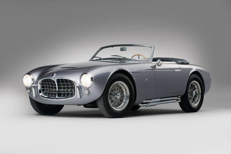 1953 Maserati Frua spyder-bodied A6GCS. Lovely.
