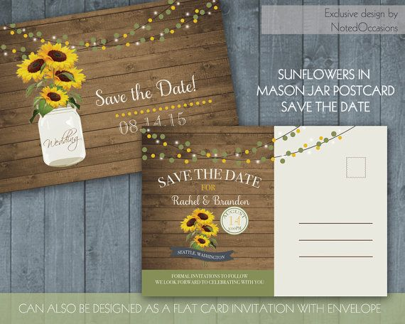 1000+ images about Rustic Sunflower Wedding on Pinterest ...