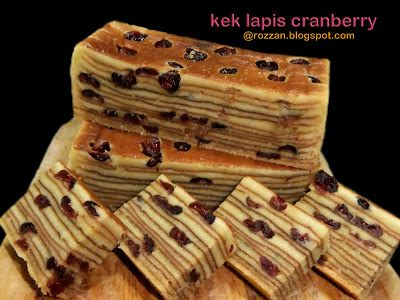WELCOME TO RSR: KEK LAPIS CRANBERRY