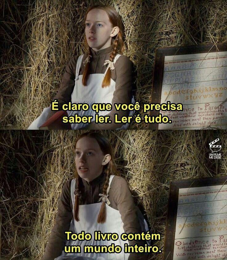 De Peito Aberto Frase Da Serie Anne With An E Chuviscoderisco