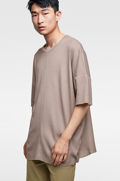 0460bc8d633 OVERSIZED TEXTURED WEAVE TOP - Available in more colours