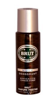 Brut Musk deodorant brings you long lasting protection and the fresh, distinctive fragrance of Brut