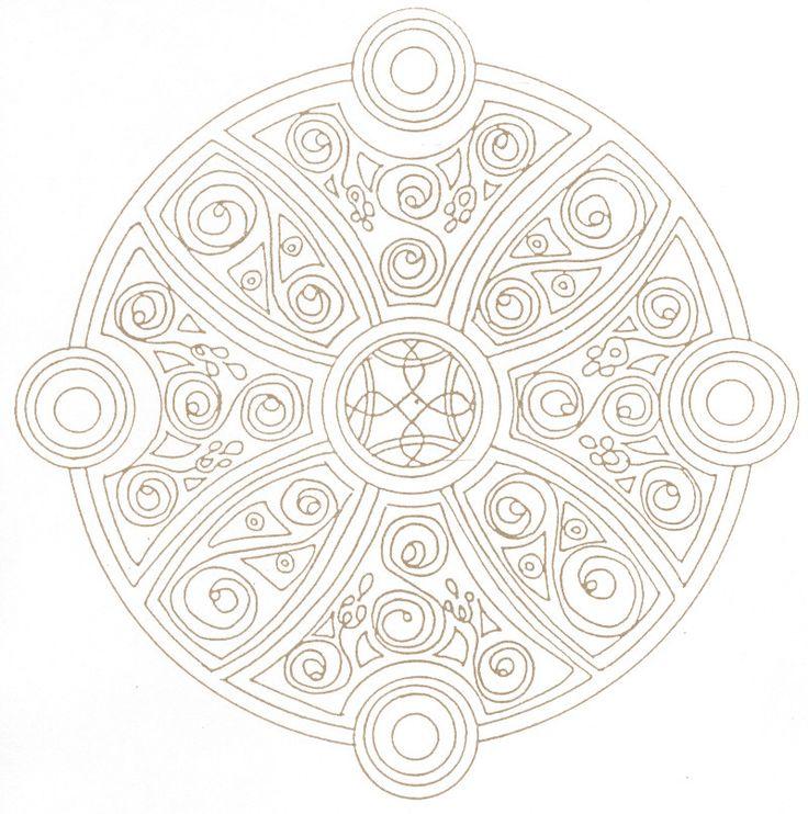 Dans Mandalas Coloring Pages