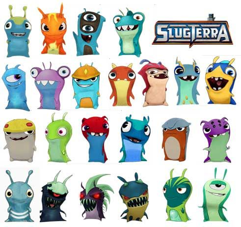 SlugTerra  Coleccion Completa