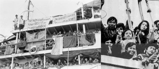 10 novembre 1978 ♦ L'odyssée des boat people du cargo Hai Hong fait la une des journaux.