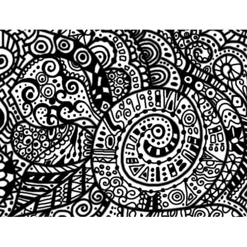 Free Print Doodle Pages