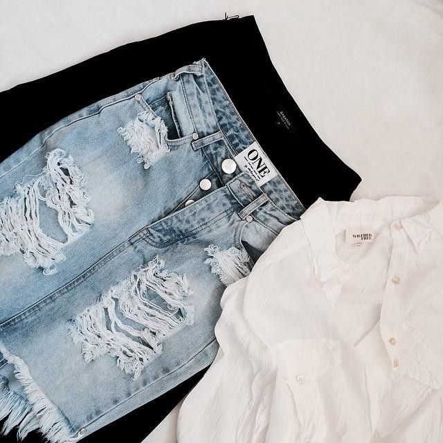 Distressed.