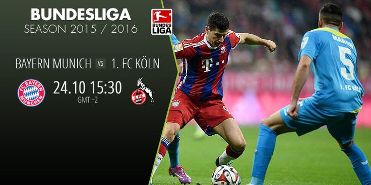 BAYERN MUNICH vs 1.FC KOLN.. Catch all the action live on www.betboro.com