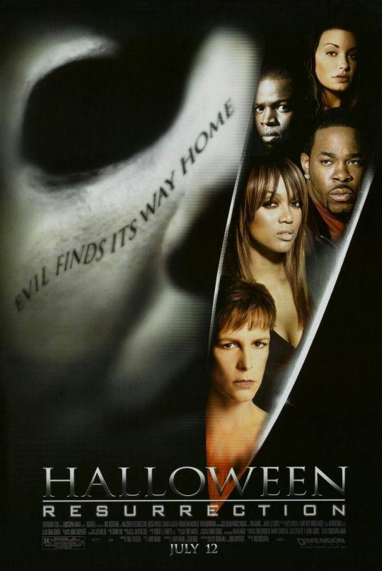 Halloween: Resurrection (2002)  Dir. Rick Rosenthal   Busta Rhymes, Bianca Kajlich, Tyra Banks