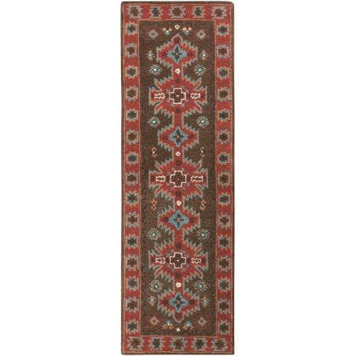 Surya ARZ1004-268 Arizona 3' x 8' Runner Wool Hand Tufted Southwestern Area Rug