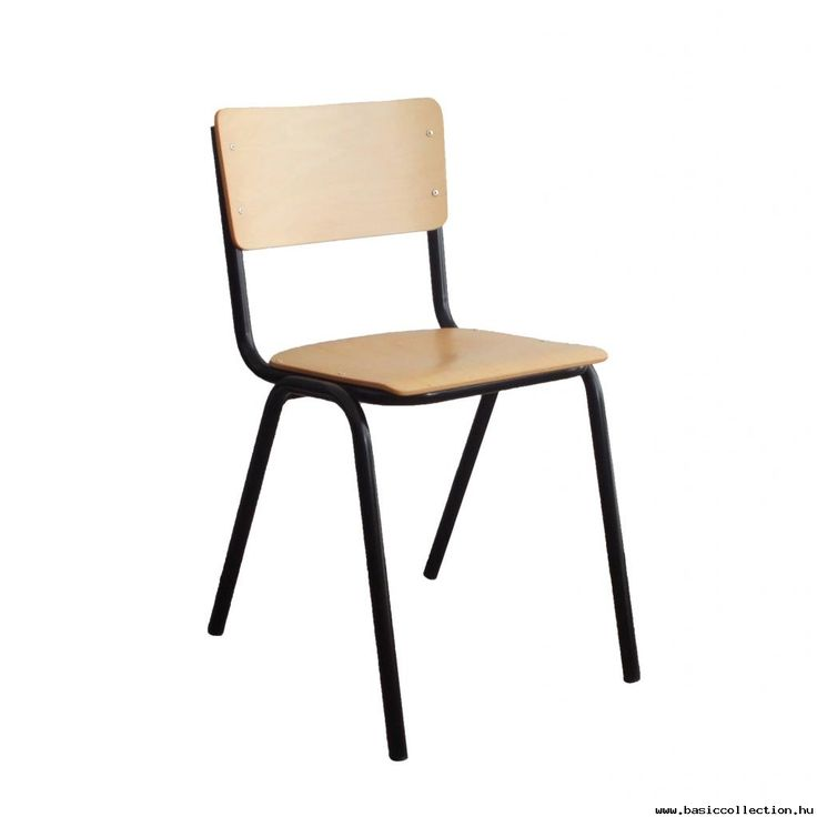Scola wooden chair  #basiccollection #wooden #chair #stackable #retro