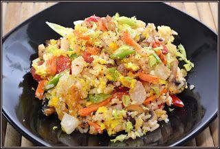 ŐRÜLTEN  JÓ ÉTELEK : Rizs és zöldség avagy Kelet és fúzió, vagy mi?!