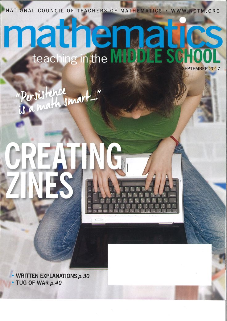Mathematics teaching in the middle school. Vol. 23, nº 1, September 2017