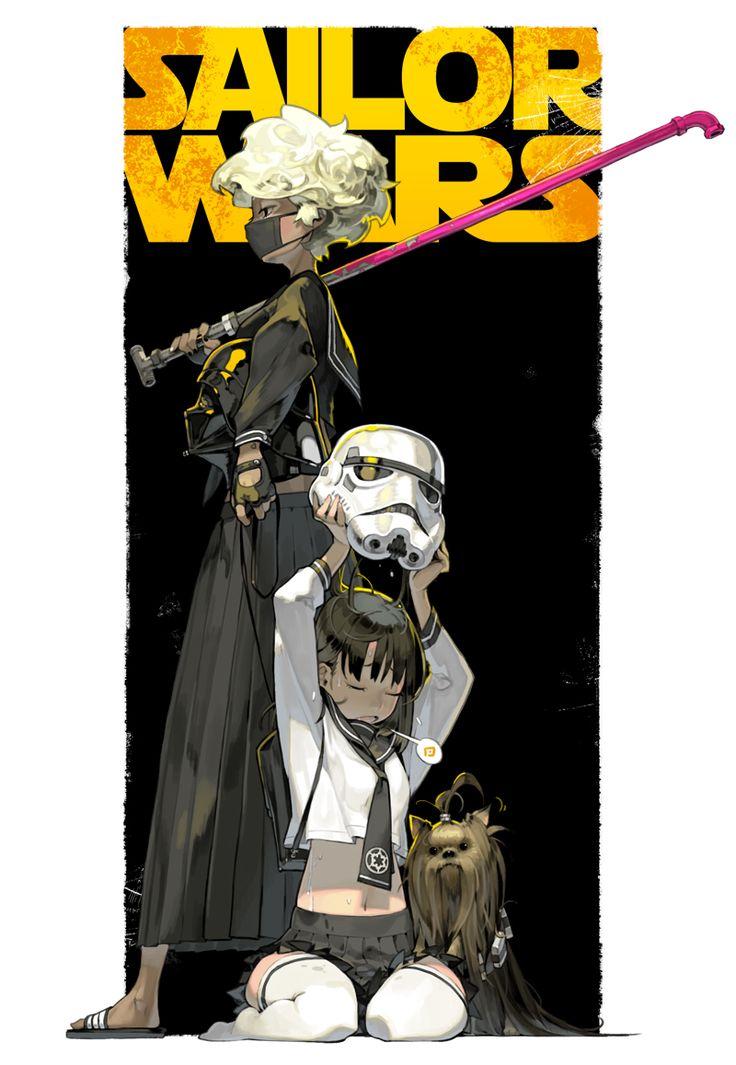 letme0306: personal work [ Sailor Wars ] - 球体モノリス