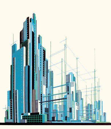 архитектурная графика эпохи конструктивизма - Поиск в Google