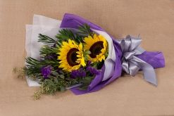 2 Sunflowers Bouquet  #floralgaragesg #decoration #parties #love #couple #weddingday #occasions #homedecor #lifestyle #lol #inspiration #roses #bookey #flowers #nature #happybirthday #birthday #prettiness #happyme #traveldiaries #Singapore #bouquets