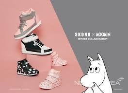Scandinavian fashion sneakers(shoes) brand Skono X Moomin collaboration shoes in 2015 FW. World licensee : SKONOKOREA Contact for sales(online, offline) : help@skonokorea.com