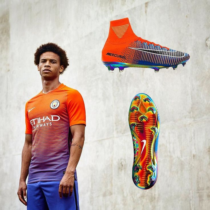 Will we see this kit and boot combo at some point? They certainly match each other . . . #footydotcom #fcfc #footy #footballboot #soccercleats #football #soccer #futbol #futbolsport #cleatstagram #totalsocceroffical #fussball #bestoffootball #rldesignz #footballboots #footballshirts #mcfc #mancity #manchestercity #nike #nikefootball #easports #fifa #fifa17 #design