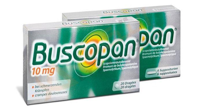 ي ستخدم دواء بسكوبان Buscopan في علاج القولون العصبي والقضاء على آلام المعدة حيث يحتوي هذا الدواء على الماد Volvic Bottle Water Bottle Plastic Water Bottle
