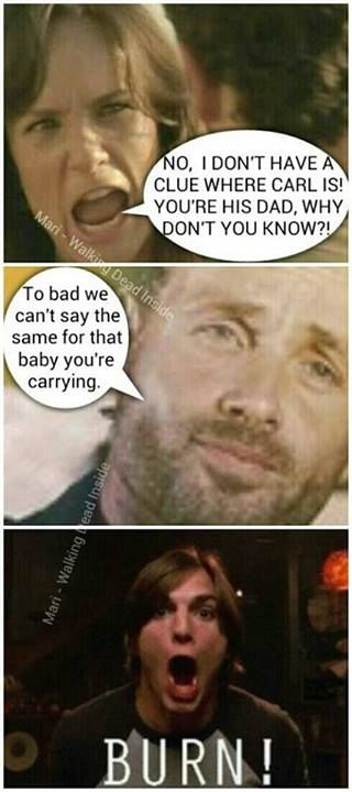The Walking Dead funny memes