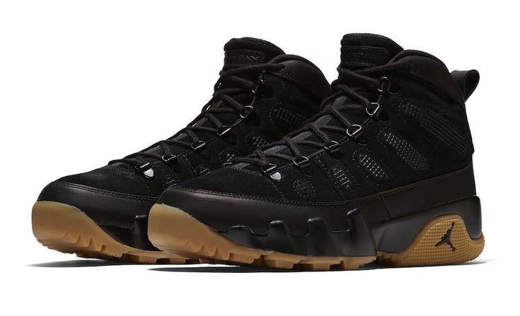 Release Date: Air Jordan 9 Boot NRG Black Gum