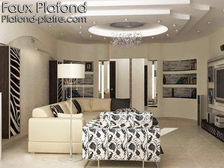 ... Faux Plafond Platre sur Pinterest  Faux plafond design, Plafond en