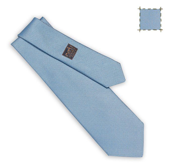 Ties Hermès Knit - Solid Color - Men | Hermès, Official Website