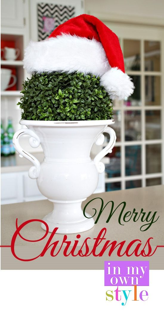 Merry Christmas – Happy Holidays - In My Own Style