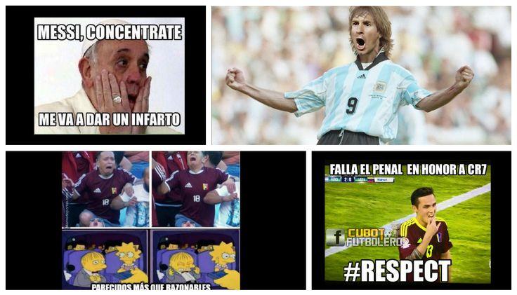 Argentina vs. Venezuela: Los mejores memes del partido por cuartos de final.