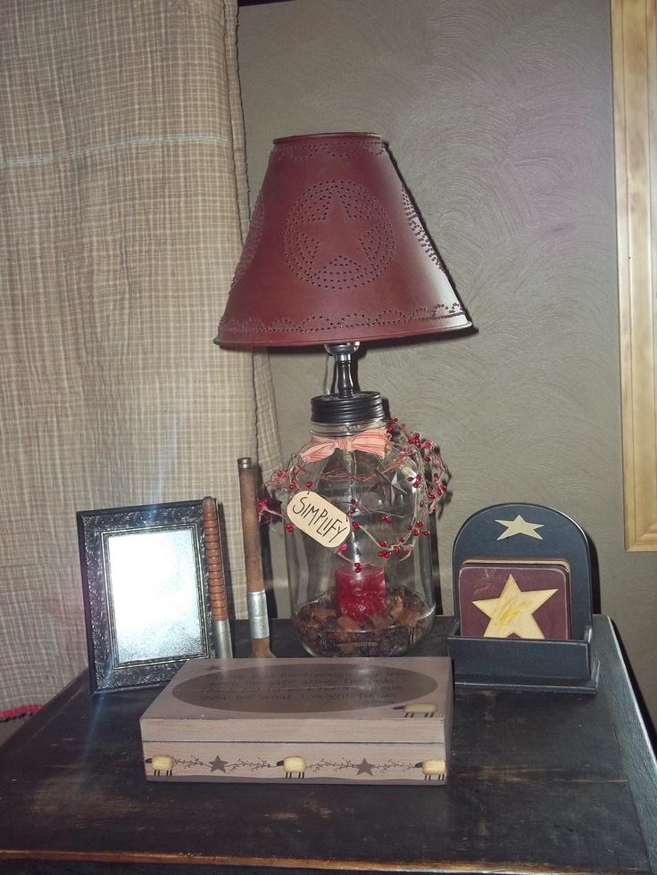 17 best images about diy lamps on pinterest country lamps blue flip flops and primitive lamps. Black Bedroom Furniture Sets. Home Design Ideas