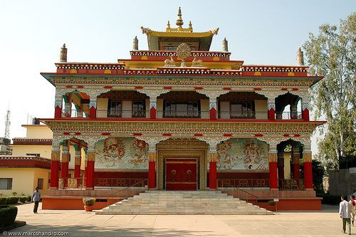 buddhist temples | Thai Buddhist Temple Bodh Gaya India: