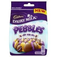 Cadbury Dairy Milk Pebbles 140g