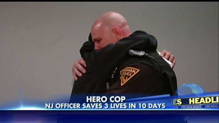 'Proud to Be a Police Officer': NJ Cop Saves 3 Lives in 10 Days