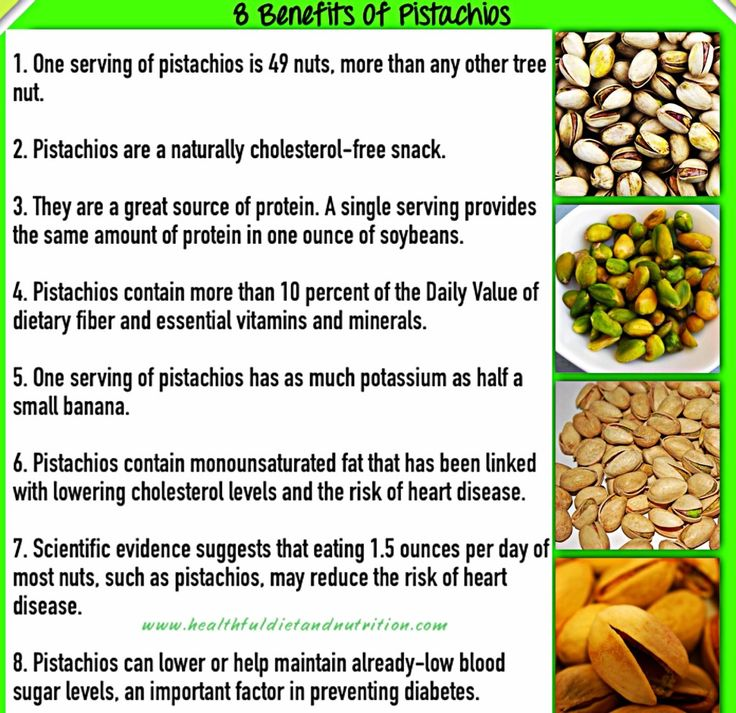 8 Benefits Of Pistachios. -- A BIG Part Of Your #lowcarb