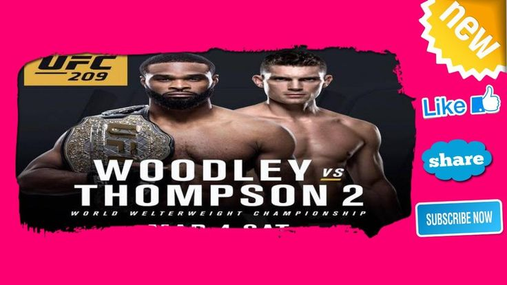UFC 209 How to watch live stream fight card date odds start time - Today...