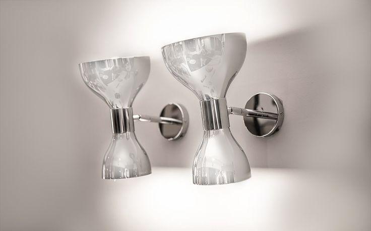 Tata Wall Lamp by Contardi available at Pure Interiors.