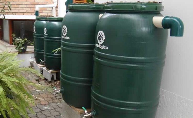 Mini cisterna é opção prática para reaproveitar água da chuva