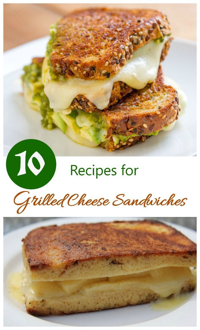 How do you make a grilled cheese sandwich? With one of these tasty recipes, that's how!