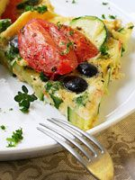Bethanny Frankel's Easy #Frittata! A great, healthy #breakfast to start the day!