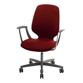 The new conference favourite, Monroe can also be used as a visitor chair in combination with the 9000 desk chair. The Monroe has a particularly comfortable Nozag-sprung seat and a flexible back. It is also vertically adjustable.