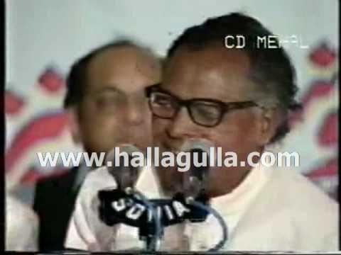 Khumar Barabankvi - Woh Humein Jisqadar Azmatay Rahay_clip0.wmv - YouTube