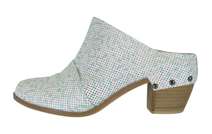 Windmill, Mint/White perforated leather RRP$NZD225