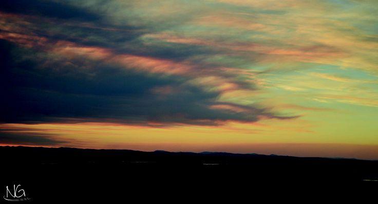 Sun set at Rainbow Beech
