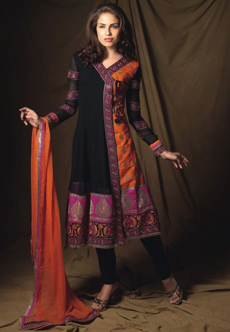 Indian fabric and style...Beautiful. #Churidar Kameez