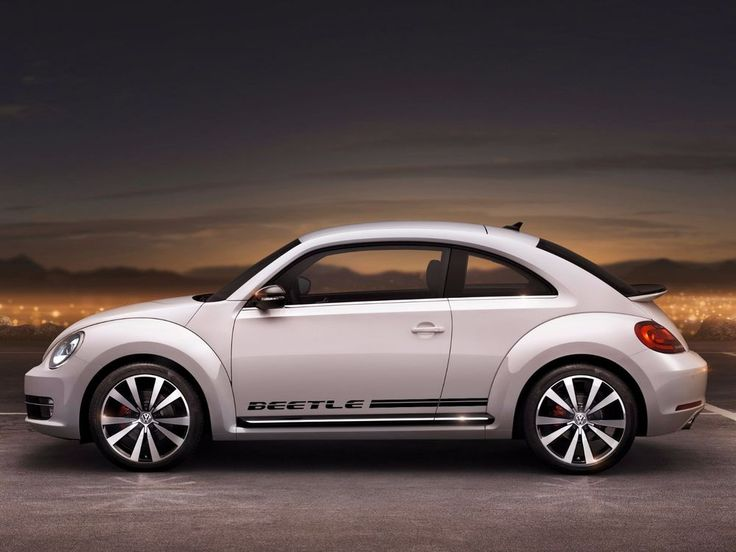 VW Beetle 2012-2016 rocker Stripe Stripes Graphics Decals #Volkswagen