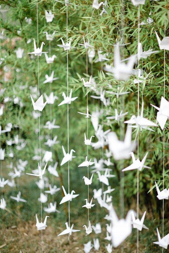 oh!myWedding: Originales figuras de origami en las bodas