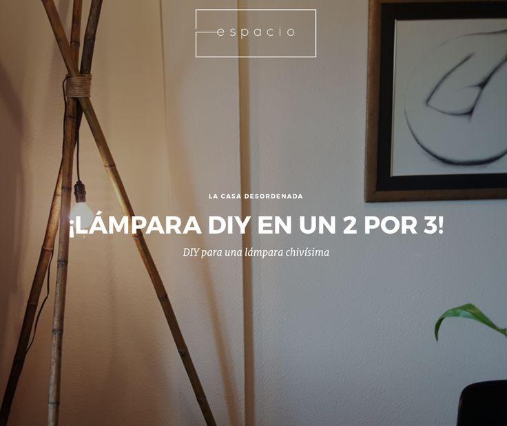 Lámpara DIY (hágalo usted mismo) con bambú   diseño