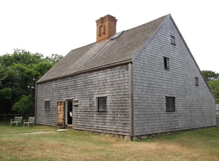 New England Colonial Jethro Coffin House Nantucket Massachusetts 1686