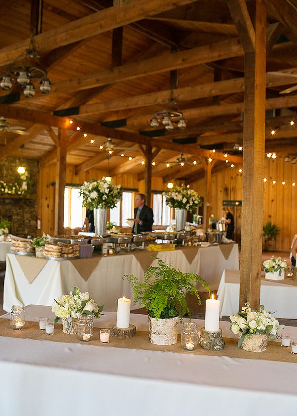 Rustic Wedding Reception Idea | Captured by Lindsey Photography @Lindsey Stone