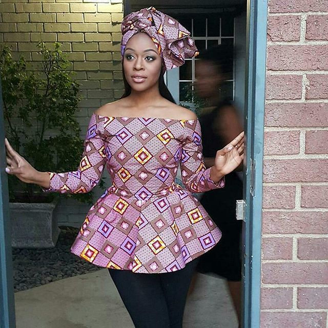 2017 Ankara Top Styles for ladies to stand out beautifully amongst their mates. Howdy ladies, ankara fabric have been crafted into amazing ankara tops you can decide to rock on jeans trousers or skirts. Below are ladies who are looking stylish as they combine these ankara styles according to their choice and in a way they believe can make them classic and trendy in the fashion world. #2017 ankara gowns #2017 ankara short gowns #2017 ankara top styles #ankara fashion 2017